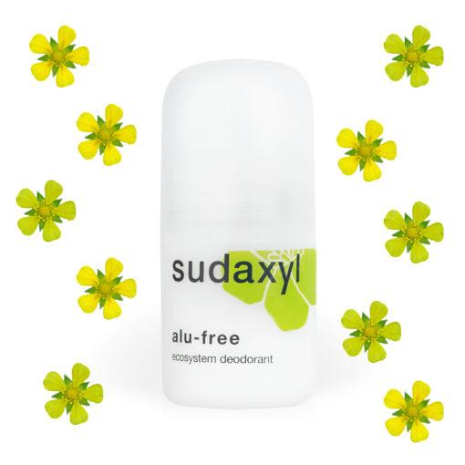 Déodorant sudaxyl alu-free roll-on avec fleurs