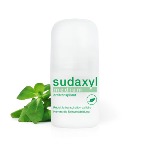 Antitranspirant sudaxyl medium roll-on avec pourpier